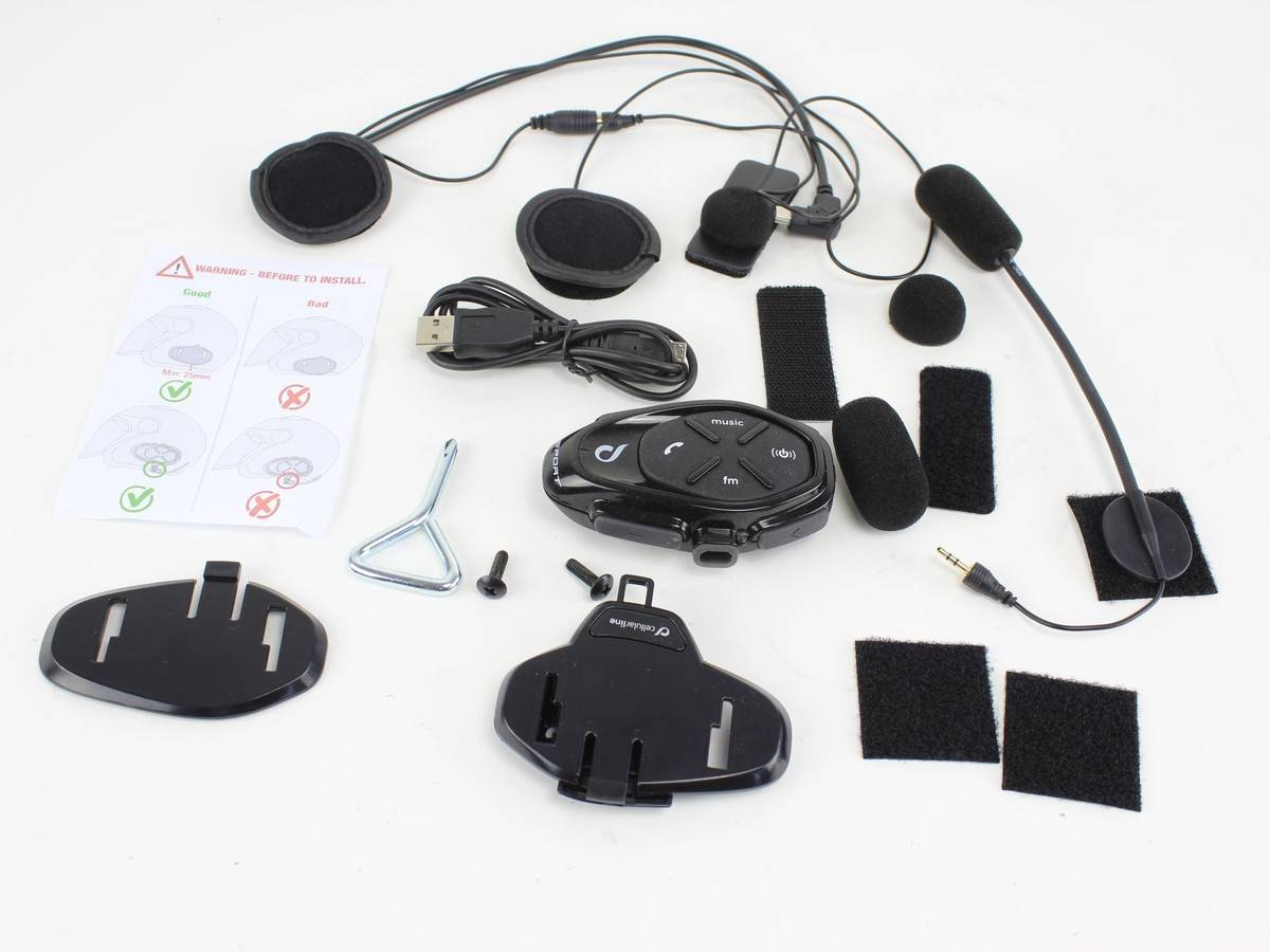 Intercomunicador para moto Cellularline Interphone Sport 1