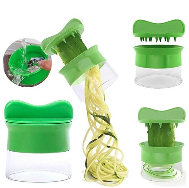 Cómo hacer espaguetis de verduras y espirales 2