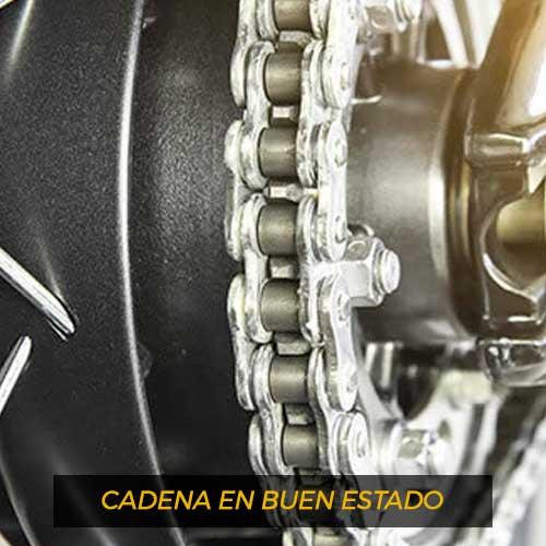 Cómo engrasar y limpiar la cadena de la moto 2
