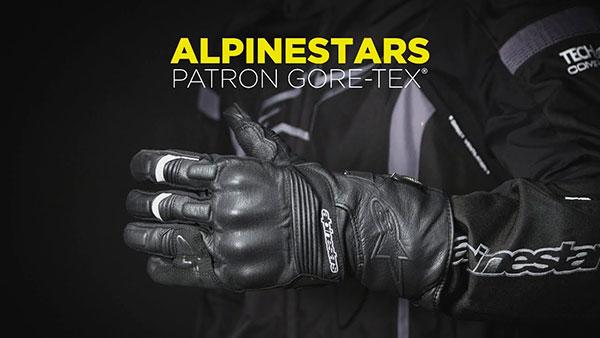 Alpinestars Patron Gore-Tex Gore Grip. Guantes de moto para invierno. 1