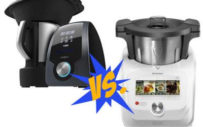 ¿Es el robot de cocina Mambo 9090 mejor que Monsieur Cuisine?
