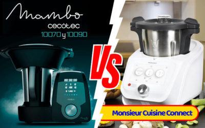 Comparativa Mambo 10070 y 10090 vs Monsieur Cuisine Connect