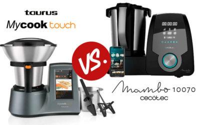 Comparativa Mambo 10070 vs Taurus MyCook Touch