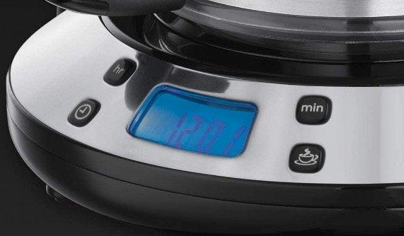 cómo programar la cafetera de goteo russel hobbs